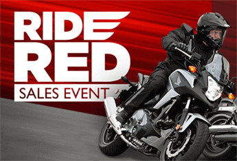 Ride RED Sales Event