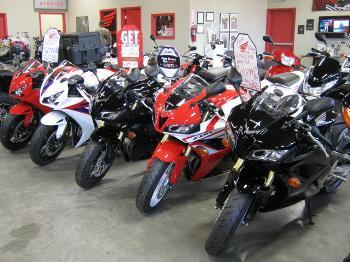 We Have A Large Selection Of Sport Bikes Cruisers And Off Road Vehicles
